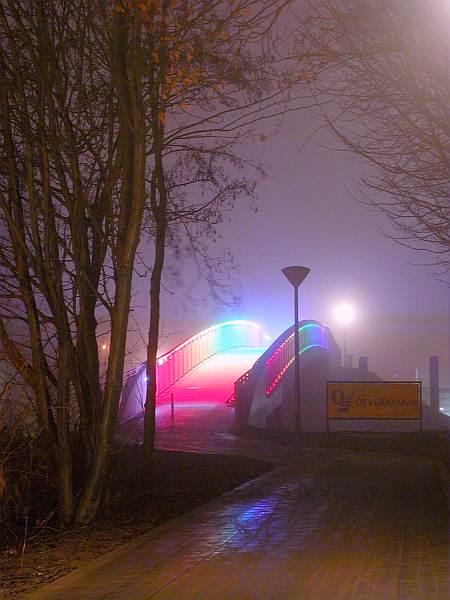 Die neue Regenbogenbrücke