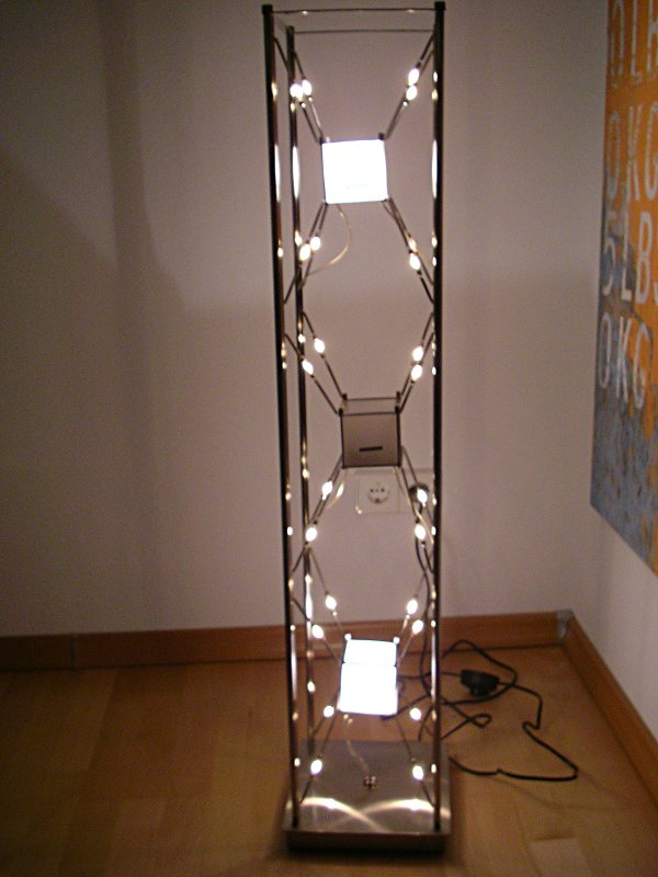 China-Nachbau meiner Cube-Leuchte