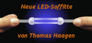 Neue - blaue - LED-Soffitte / New LED Festoon Lamp