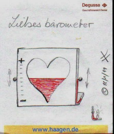 "[ The ""Love Barometer"" ]"