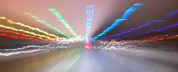 Effektfoto Regenbogenbrücke >