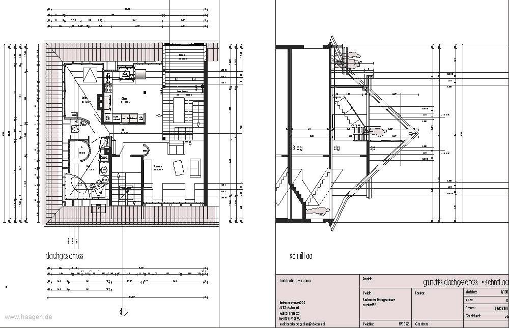 moderner dachgeschoss ausbau thomashaagen mit loggia ein kreativer und innovativer dachausbau. Black Bedroom Furniture Sets. Home Design Ideas